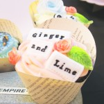 Ginger and Lime Cupcake